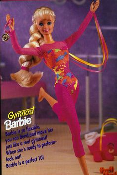 Gymnast Barbie