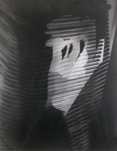 Man Ray, 'Untitled Rayograph (Image Through Blinds)' (1926).