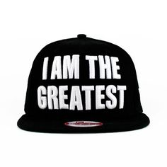 The I Am The Greatest SNAPBACK (Green Under) New Era Caps Hats For Sale 3a1bc3e015ba