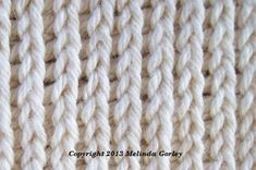 Tunisian Knit Stitch(Tks) - This site has a list of all Tunisian Crochet Stitches.