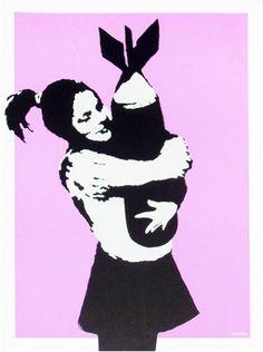 Banksy, 'Bomb Love'