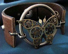 Steampunk Butterfly Cuff