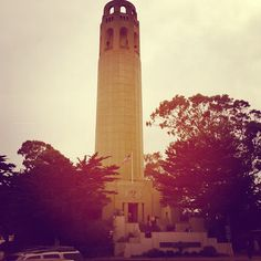 Coit Tower. @ Coit Tower