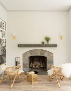 White living room ideas: 25 schemes and ideas for a chic white living room | Livingetc Vintage Leather Sofa, Fireplace Wall, Fireplace Ideas, Living Room White, Living Room Seating, Room Themes, White Walls, Interior Inspiration, Family Room
