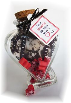 Custom Valentine Gift for Him or Her 52 I Love You's  by Rychei, $33.95 DIY!