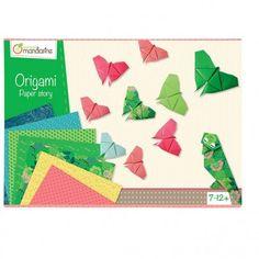 Origami boîte créative AVENUE MANDARINE : Chez Rentreediscount Loisirs créatifs 2nd Avenue, Creative Box, Stickers, Origami Paper, 2 Colours, Pattern, Prints, Products, Creative Art