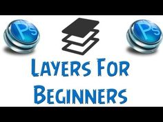 Photoshop Tutorial - Layers For Beginners - Photography Website Video Training 101 Adobe Photoshop, Photoshop Tutorial, Effects Photoshop, Photoshop Illustrator, Photoshop Elements, Photoshop Actions, Lightroom, Photoshop Youtube, Advanced Photoshop