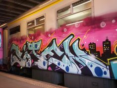 Graffiti on trains | ... – Graffiti Art On Trains (2009 – 2011) « I Love Graffiti DE