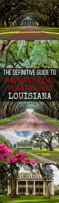 An incredibly comprehensive guide to the beautiful plantations along the river…