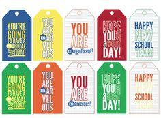Lunchbox Notes {Free Printables!}