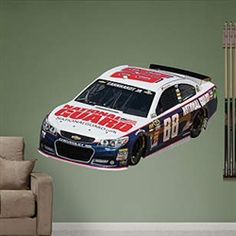 75cb6d90d92 Dale Earnhardt Jr. 2013 National Guard NASCAR Wall Graphic by Fathead. Buy  it  ReadyGOLF.com