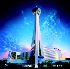 Las Vegas: You can race to the top of the Strat for a good cause  Going up! If you'd like the challenge of climbing all the 1,455 steps to the top of the Stratosphere, you can participate in a benefit for the American Lung Assn. of Nevada. (Stratosphere Casino, Hotel & Tower)