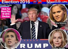 13 Stars Who Vowed To Leave America After Trump's Win: Miley Cryus, Amy Schumer &More