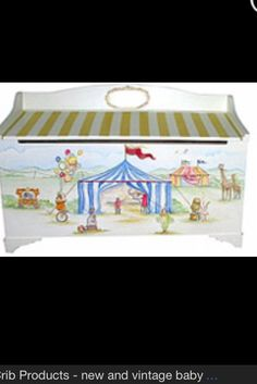 Circus toy box ~ under the top