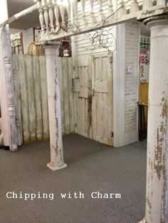 Chipping with Charm: Fun News...our New Booth at Antiques Downtown