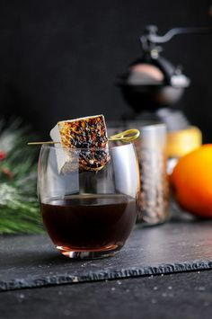 The Roast and Toast – A Bourbon and Coffee Cocktail