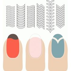 Download Nail templates | Silhouette Cameo | Pinterest | Nails ...