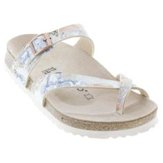 574f807068db An attractive criss-cross thong style sandal with classic Birkenstock  comfort. Get free express