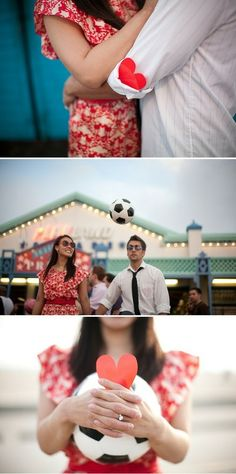 soccer in wedding photos inspiration