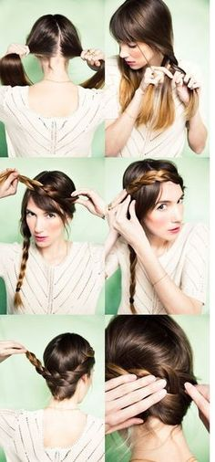 The Can-Do Updo -Hairstyle tutorials!