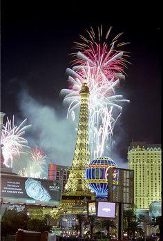 over Paris Las Vegas!