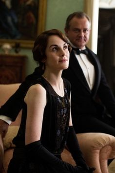 Lady Mary and Lord Grantham :D