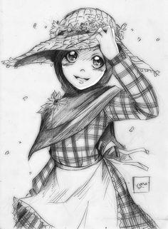 Flower Girl by Mideater.deviantart.com on @deviantART