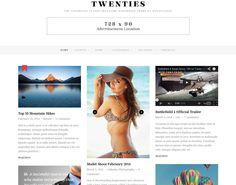 WP Theme Of the Day #210 – Twenties – Clean Responsive Blog Theme