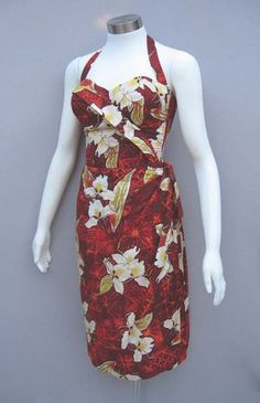 Alfred Shaheen 1950's dress
