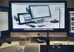 Workspace Office Space of Eddie Lobanovskiy  http://www.techirsh.com