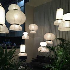 """Handgemachte """"Formakami""""-Lampen aus Reispapier von Jaime Hayon für &tradition"""