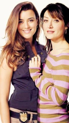 Ziva & Kate, our two favorite female field agents, and they're both gone now