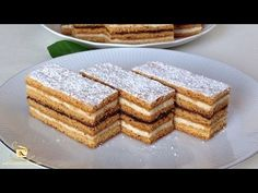 Romanian Desserts, Romanian Food, Easy Cooking, Cooking Recipes, English Food, Food Videos, Vanilla Cake, Sweet Treats, Gem