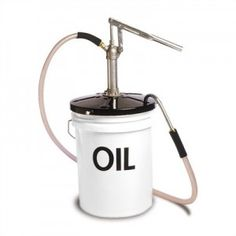 Pump for a five gallon bucket - for oil, lubricants, water, milk?