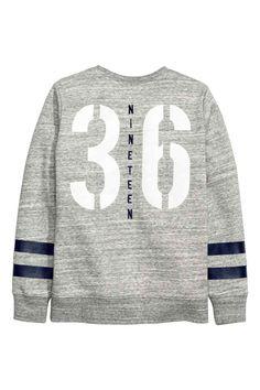 Sweat-shirt avec impression | H&M