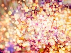 Festive Background with Natural Bokeh and Bright Golden Lights. Vintage Magic Background with Color Photographic Print by Maximusnd - AllPosters.ca