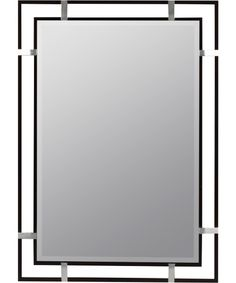 Kinzie Mirror - 24W x 34H in. - Wall Mirrors at Hayneedle