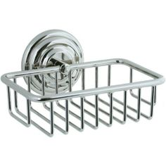 Cifial 477.870.721 5.5in. Small Basket Bathroom Shelf by Cifial. $99.45. Finish:Polished Nickel   Ideal for soap and toiletries  Solid brass mounting post  Concealed mount