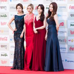 Girl's Day SoJin, HyeRi, MinAh and YuRa