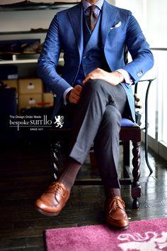 Jacket&Vest: ARISTON Wool&Silk&Linen