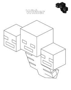 Minecraft Wither Storm Coloring Pages from Printable Minecraft Coloring Pages Collection. The world of Minecraft is indeed a difficult concept to understand by parents. But the video game has become so popular among children and adolescents. Minecraft Coloring Pages, Lego Coloring Pages, Horse Coloring Pages, Unicorn Coloring Pages, Pokemon Coloring Pages, Online Coloring Pages, Coloring Pages For Girls, Coloring Pages To Print, Free Printable Coloring Pages