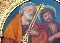 Novara, Basilica di San Gaudenzio, particolare dalla Cappella della Natività dipinta da Gaudenzio Ferrari (1516)