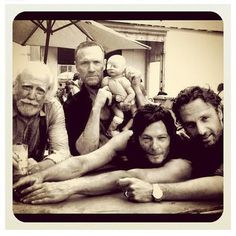 The Walking Dead!  Cant wait till October!!!!!!!!!!!!!