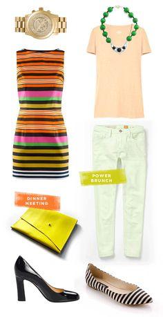 my {power meeting} uniform - designlovefest for oh joy