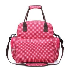 Baby Diaper Bag Backpack Bag For Mom - Red / United States