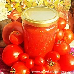 Recipe for homemade tomato juice with organic tomatoes