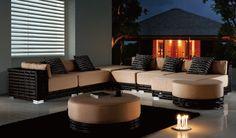 outdoor modular sectional