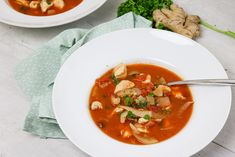 linzen-venkel-kip-soep Thai Red Curry, Ethnic Recipes, Food, Essen, Meals, Yemek, Eten