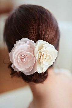 BIANCA Bridal Flower Hair Comb  $126    http://www.etsy.com/listing/82232922/bianca-bridal-flower-hair-comb-silk