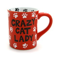 Crazy Cat Lady Mug | Our Name is Mud #OurNameIsMud #cats